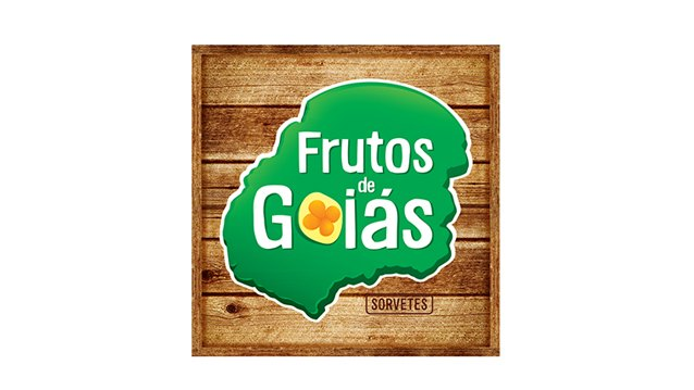 Logo da Frutos de Goiás case de marketing da Agência Kaizen