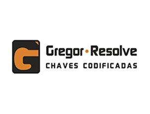 Logo da Gregor Resolve case de marketing da Agência Kaizen
