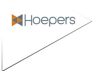Logo da Hoepers Recuperadora de Crédito case de marketing da Agência Kaizen