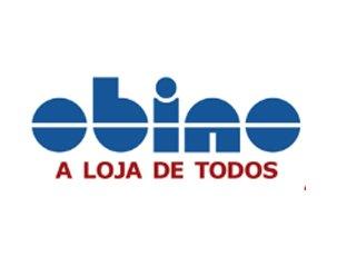 Logo da Lojas Obino case de marketing da Agência Kaizen
